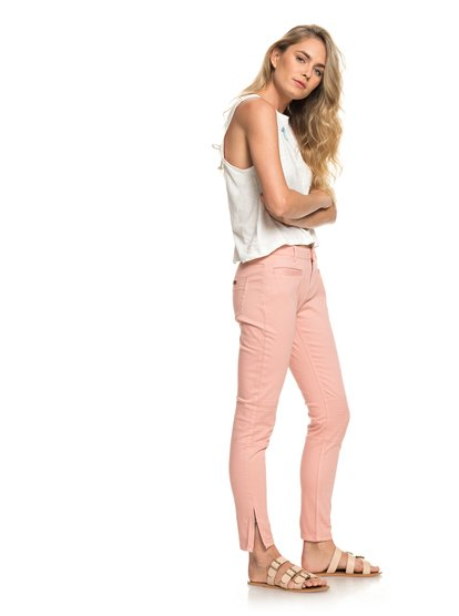 Her New Tribe - Skinny Fit Biker Trousers  ERJNP03174