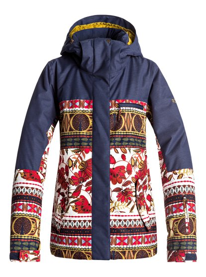 Torah Bright ROXY Jetty - Snow Jacket  ERJTJ03144