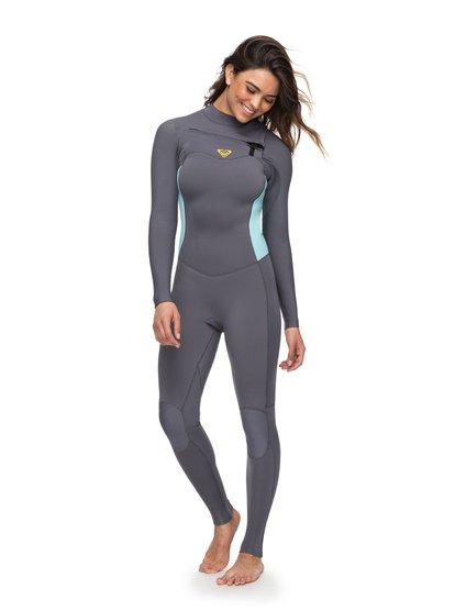 4/3mm Syncro Series - Chest Zip GBS Wetsuit for Women  ERJW103022