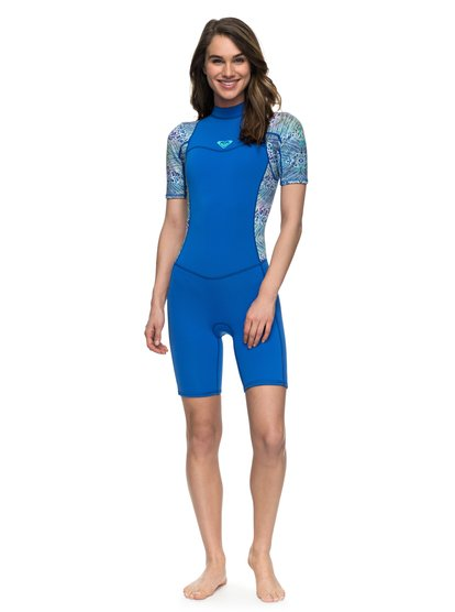 2/2mm Syncro Series - Short Sleeve Back Zip FLT Springsuit for Women  ERJW503007
