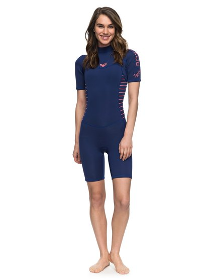 2/2mm Syncro Series - Short Sleeve Back Zip FLT Springsuit  ERJW503007