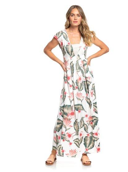A Day At Tribeca - Sleeveless Maxi Dress for Women  ERJWD03306