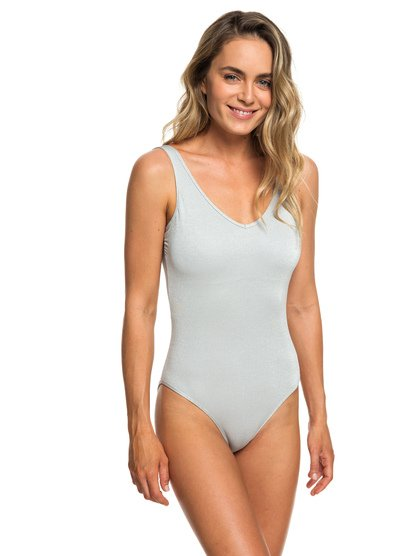 H And K - High Leg One-Piece Swimsuit for Women  ERJX103148