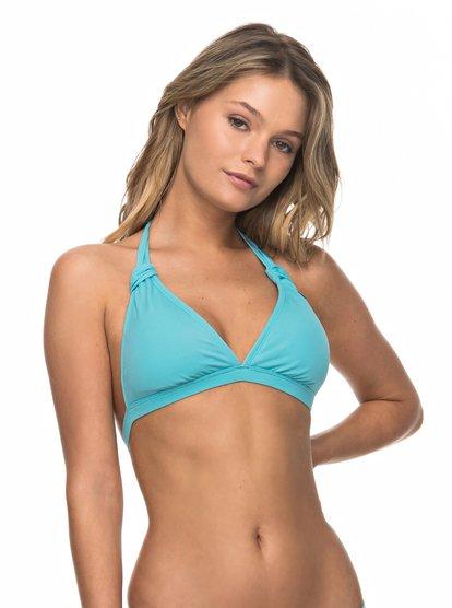 ROXY Essentials - Halter Bikini Top for Women  ERJX303615