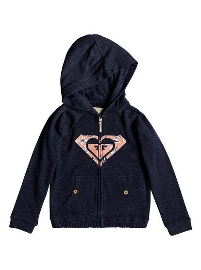 Coming In Tails - Zip-Up Hoodie for Girls 2-7  ERLFT03146