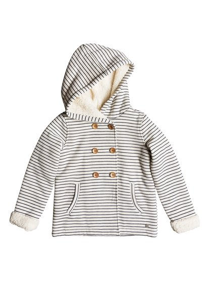 Warm Smell - Button-Up Hooded Sweatshirt for Girls 2-7  ERLFT03150