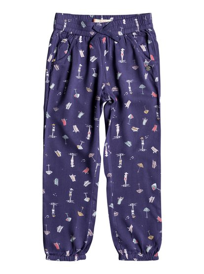 Calm Skies - Beach Pants for Girls 2-7  ERLNP03023
