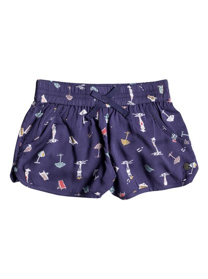Meet Me In The City - Viscose Shorts  ERLNS03014