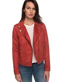 Love Spell - Faux-Suede Biker Jacket for Women ERJJK03222 8b3b4dcf1