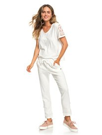 ... Symphony Lover New - Linen Trousers for Women ERJNP03226. Symphony  Lover New ‑ Pantalón de Lino para Mujer 3987a0213c49