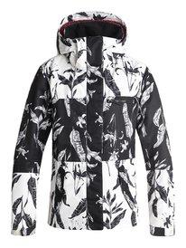 ROXY Jetty Block - Snow Jacket for Women ERJTJ03176 7d0a0e84b