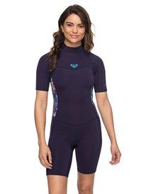 a8cc63920e 2 2mm Syncro Series - Short Sleeve Back Zip FLT Springsuit for Women  ERJW503007