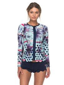 1mm POP Surf - Front Zip Scallop Wetsuit Jacket for Women ERJW803012 65e0022da96