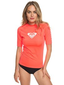 668147a193 Whole Hearted - Short Sleeve UPF 50 Rash Vest for Women ERJWR03219