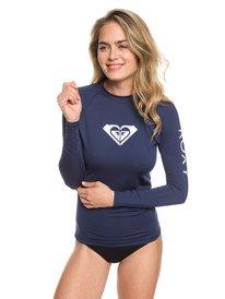 444a440a32 ... Whole Hearted - Long Sleeve UPF 50 Rash Vest for Women ERJWR03221 ...