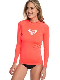 347112a7a0dc2 Whole Hearted - Long Sleeve UPF 50 Rash Vest for Women ERJWR03221