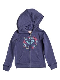 0f8fca4d44 Autumn Wind Flower Logo - Zip-Up Hoodie for Girls 2-7 ERLFT03139