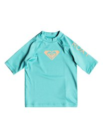 6615dce53f Whole Hearted - Short Sleeve UPF 50 Rash Vest for Girls 2-7 ERLWR03074