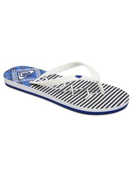 Roxy Cabo Flip Flops Damen Zehentrenner, Weiß (White), 36 EU