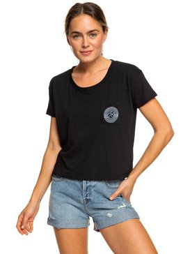 WAVE EYE CROP POCKET TEE  ARJZT05161
