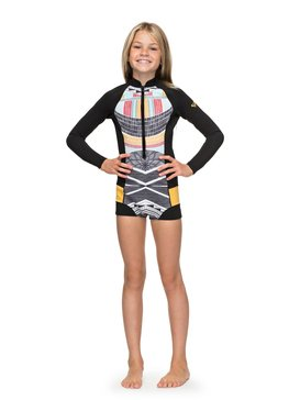 1mm Pop Surf - Long Sleeve Front Zip Springsuit  ERGW403005