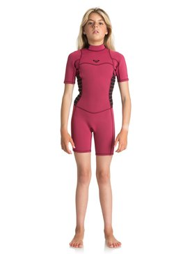 2/2mm Syncro Series - Short Sleeve Back Zip FLT Springsuit  ERGW503004