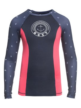 Tropi ROXY - Long Sleeve UPF 50 Rash Vest for Girls 8-16  ERGWR03080