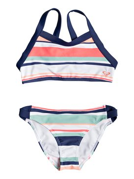 Happy Spring - Crop Top Bikini Set for Girls 8-16  ERGX203195
