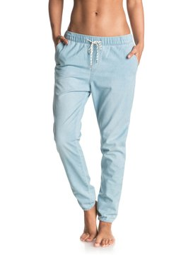 Easy Beachy - Denim Joggers  ERJDP03138