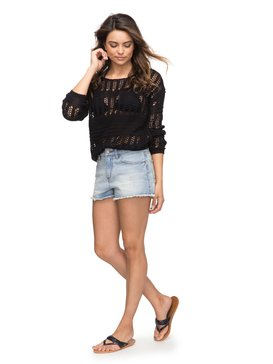 Little Abaco - Denim Shorts for Women  ERJDS03156