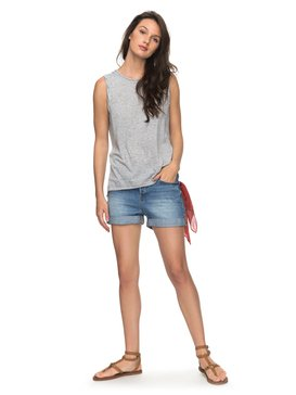 Green Turtle Cay - Denim Shorts for Women  ERJDS03157