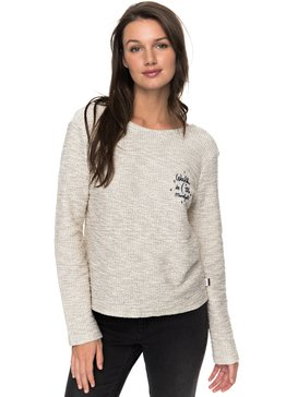 Saturdaze - Loose Fit Tie Back Sweatshirt for Women  ERJFT03603