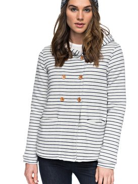 Miss The Boat - Hooded Jersey Jacket for Women  ERJFT03645