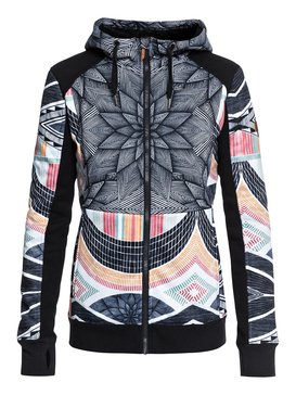 Frost - Technical Zip-Up Hoodie for Women ERJFT03745 c5d2a1f6b2