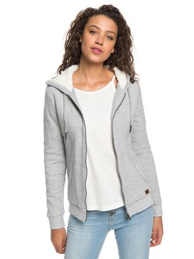 Trippin Sherpa - Zip-Up Hoodie for Women  ERJFT03821