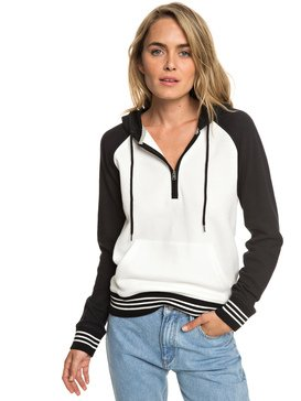 Softly Smile - Half-Zip Hoodie for Women  ERJFT03910