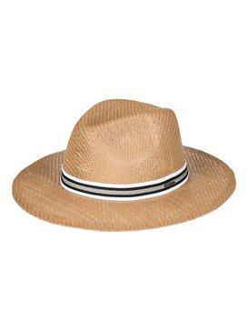 Here We Go - Straw Panama Hat for Women  ERJHA03381