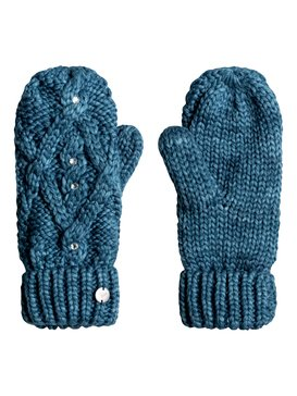 Shooting Star - Knitted Mittens for Women  ERJHN03075