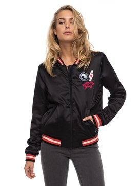Marine Life - Satin Bomber Jacket for Women  ERJJK03198