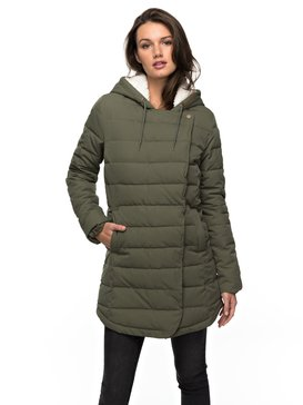 Glassy Coast - Water Repellent Padded Parka for Women  ERJJK03204