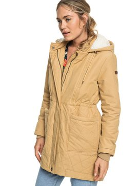 Slalom Chic - Waterproof Hooded Padded Jacket  ERJJK03231