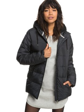Harbor Days - Water Repellent Hooded Puffer Jacket for Women  ERJJK03254