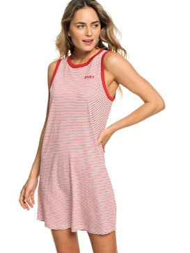 LOVE SUN TANK DRESS STRIPES  ERJKD03235