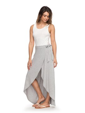 Everlasting Afternoon - Maxi Wrap Skirt for Women  ERJKK03023