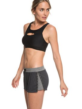 "Cant Wait To Start 3"" - Workout Shorts for Women  ERJNS03195"