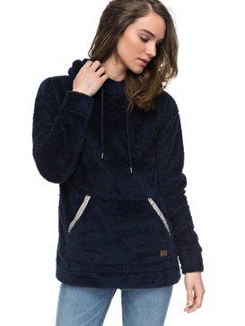 Changing Tides - Fluffy Fleece Hoodie for Women  ERJPF03025