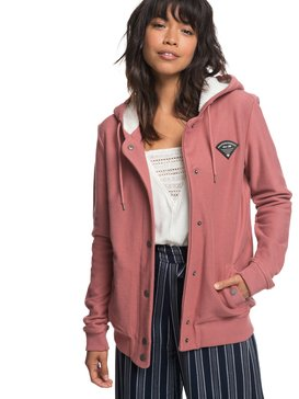 Wind Swept - Button-Up Hooded Jacket for Women  ERJPF03038