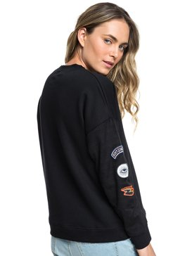 Common Heart - Sweatshirt with Faux-Fur Sleeves for Women  ERJPF03039
