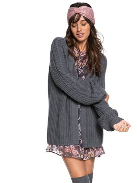 Long Away - Longline Knitted Cardigan  ERJSW03289