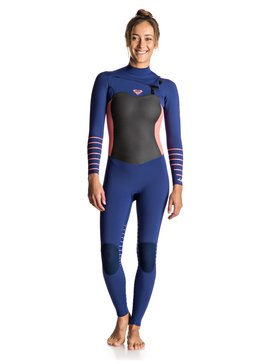4/3mm Syncro Plus - Chest Zip Wetsuit for Women  ERJW103030